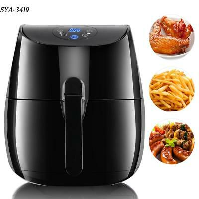 Multi-function Electric Air Fryer Rapid Large Temperature Control Bread Toaster