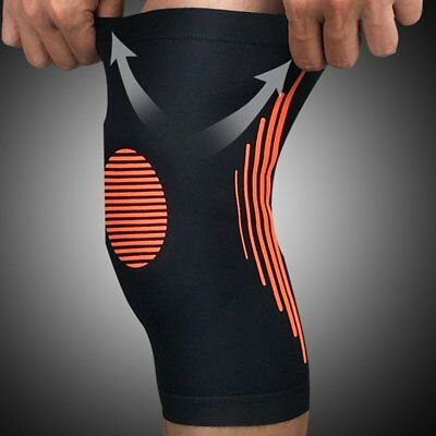 Elastic Knee Protector Compression Knee Pad Sleeve For Training Volleyball #49
