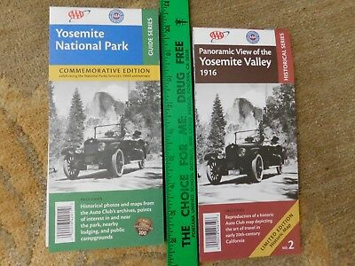 Yosemite National Park Maps - 2 Aaa/acsc California Maps - Recent Issues