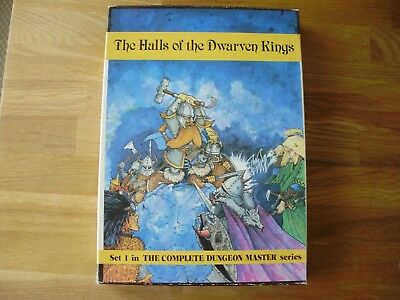 AD&D, D&D, RQ, Warhammer: The Halls of the Dwarven Kings -sehr rar-