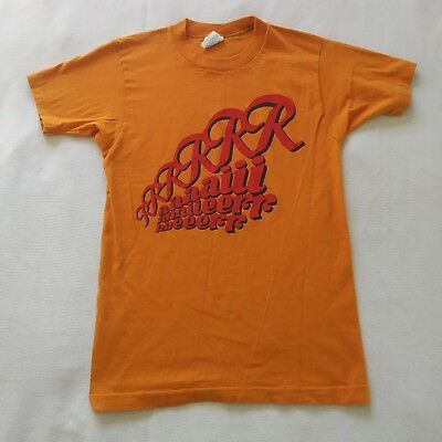 Vintage Rainier Shirt *Made in USA* orange beer tshirt 100% cotton