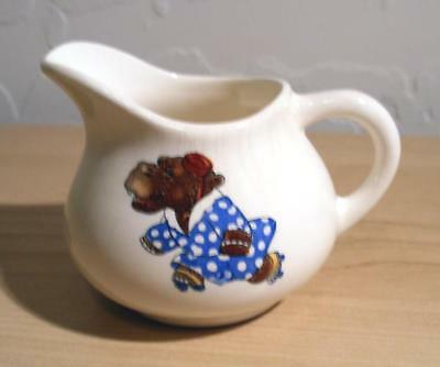 Vintage Edwin Knowles Skating Animals Creamer Hippo Free Ship