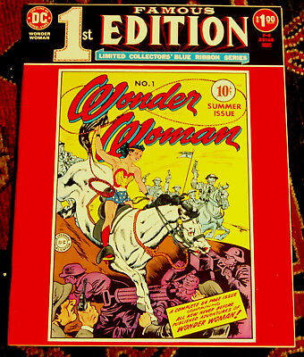Famous First Edition #F-6 Wonder Woman #1 DC 1975 NM Scarce in High Grade