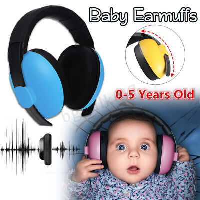 BABY Child Infant Kids Ear Muffs Defenders Earmuffs Noise Protector Sleeping Aid