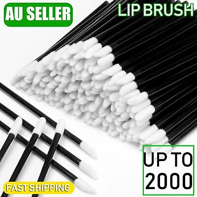 100/500/2000Pcs Disposable Lip Brush Lip Wands Gloss Lipstick Applicator Brushes