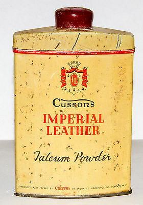 Cussons Talcum Powder Advertising Imperial Leather Skin Care London England WWII