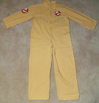 GHOSTBUSTERS Jumpsuit Halloween Costume Youth Girls Size Large Rubie's