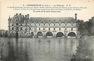 37 Chenonceaux Chateau Facade Occidentale 15101
