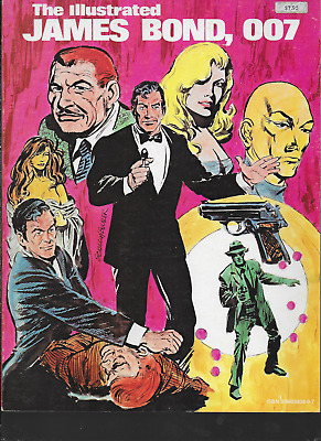 Illustrated James Bond 007 by Ian Fleming & John McLusky 1981 PB 1st Print OOP