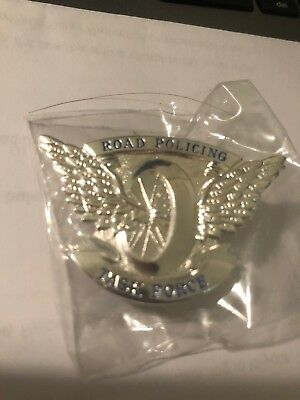 Queenskand Police. Road Policing Task Force Pin. Silver Rare
