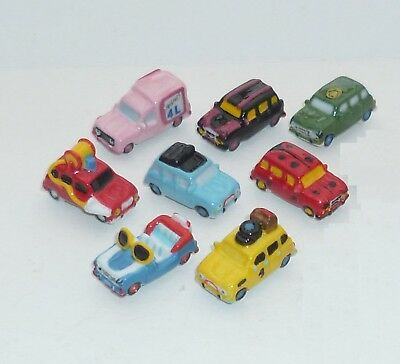 Feve Renault 4L En Couleurs, Lot De 8