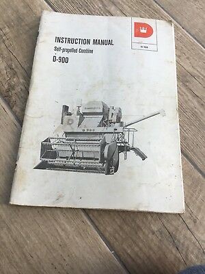 Dronningborg D-900 Instruction Manual