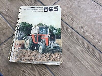 Massey Ferguson 565 Operators Manual