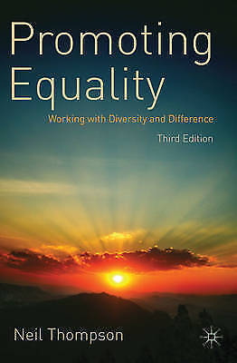 Promoting Equality Working with Diversity and Difference 9780230223431