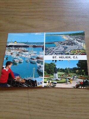 352cfd1c602e Postcard St Helier Jersey Chanel Islands Colour Photo Unposted