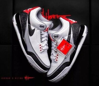 first rate 92ff4 4f644 Air Jordan 3 Retro Tinker NRG AQ3835-160 White Leather UK 7.5 EU 42 US