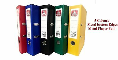 A4 Lever Arch File Folder Ring Binder High Quality Files Storage Office New
