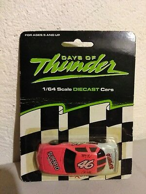 Racing Champion Exxon Days Of Thunder #46 Die cast 1/64 scale NASCAR Cole Tickle