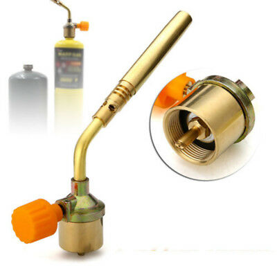 Gas Auto Ignition Plumbing Turbo Torch Propane Solder Brazing Welding Tools New