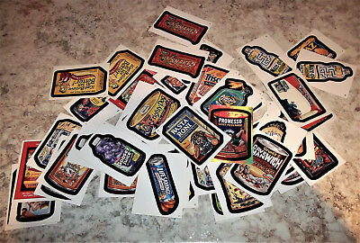Vintage Lot Of Wacky Pack Cards/stickers - 51 Cards -.