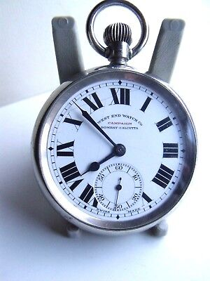 ANTIQUE LONGINES  FOR  WEST END WATCH  Co RAILWAY REGULATOR POCKET WATCH c;1910