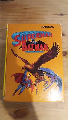 Superman and Batman 1973 Annual - With Robin The Boy Wonder