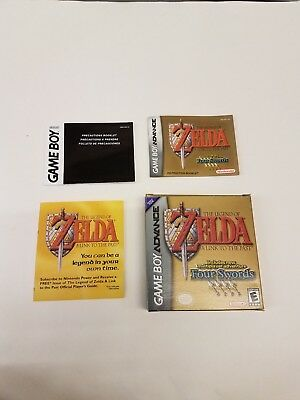 Legend of Zelda: A Link to the Past Four Swords Game Boy Advance GBA *NO GAME*