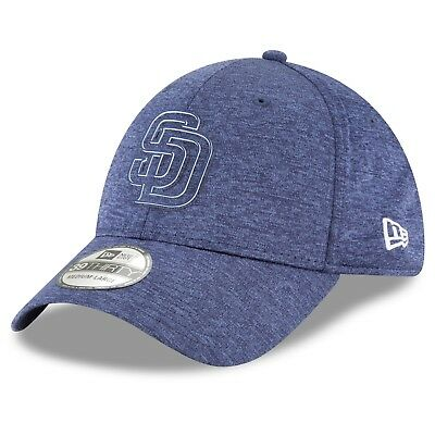 Adult S/M San Diego Padres New Era 2018 Clubhouse 39THIRTY Stretch Fit Cap M49
