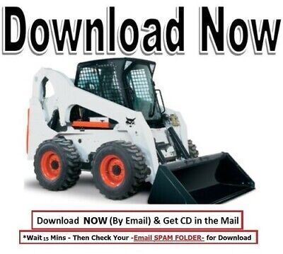 Array - bobcat 843   843b loader repair service manual on cd      rh   picclick com