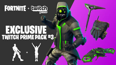 Fortnite Twitch Prime Pack #3 PreOrder (Twitch Prime)