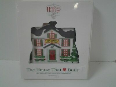 Ronald McDonald House 1997 Collector Edition Ornament Department 56 New Unopened