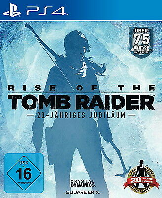 Rise Of The Tomb Raider - 20 Year Celebration (Day One Edition) (Sony...