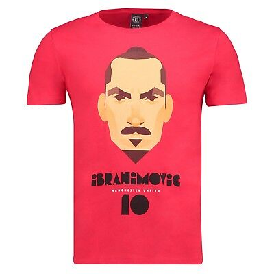 Adult XL Manchester United Ibrahimovic T-Shirt by Stanley Chow M49