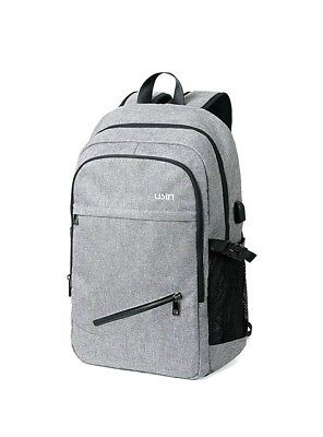 USIN Laptop Backpacks Fits 15 15.6 inch Water Repellent College Computer w/ USB