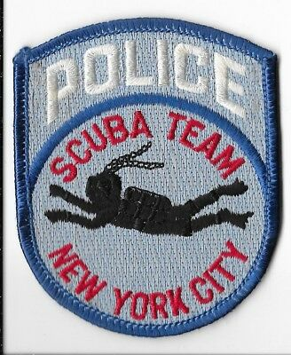 New York City Police Department (NYPD) Scuba Team Patch
