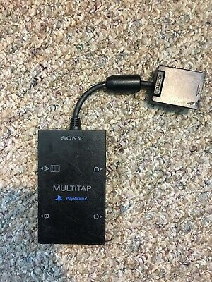 PlayStation 2 PS2 Multi Player Adapter Multi-tap SCPH-10090