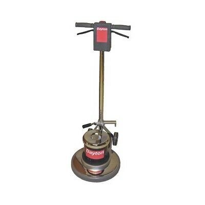 """17"""" Single Speed Floor Scrubber Machine with Pad Driver 115V 1.5 HP 175 RPM"""
