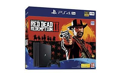 Red Dead Redemption 2 PS4 Pro 1TB Console New & Sealed In Stock Now!