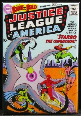 """The Brave and the Bold #28 Comic Book 2"""" X 3"""" Fridge Magnet. Justice League"""