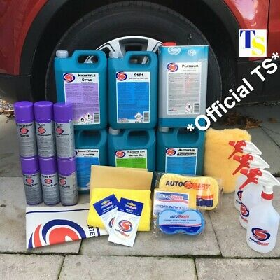 Autosmart Valeting Kit - Complete Car Clean Kit 30pcs *RRP £399* GIFT (GENUINE)