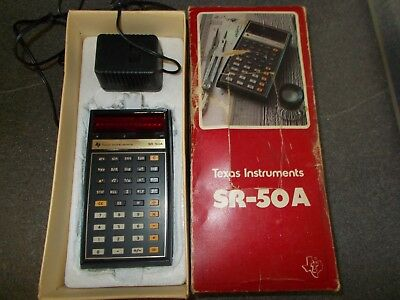TI sr 50 a texas instruments ti sr 50a taschenrechner calculator defect