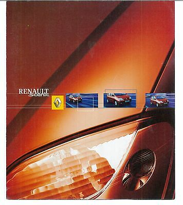Renault Scenic Catalogue Commercial