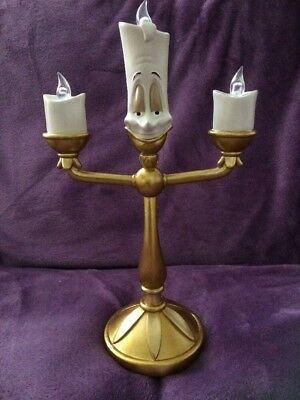 Disney Princess 3D Lumiere Candlestick Light Beauty & The Beast New And Boxed