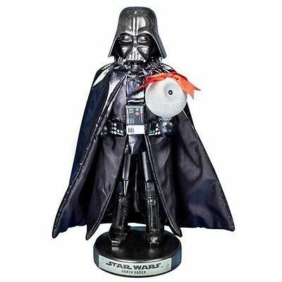 Kurt Adler Nutcracker 10 Inch Star Wars  Darth Vader  Death Star Disney NEW