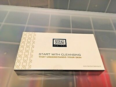 Erno Laszlo Iconic Sea Mud Cleansing Kit Deep Cleansing Bar Pre-cleansing Oil