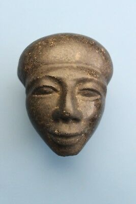 Egyptian Stone Head - No Reserve