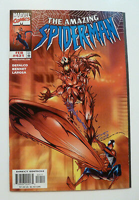 The Amazing Spider-Man #431 Cosmic Carnage, Silver Surfer Vol 1 Feb 1998