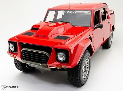 1990 Lamborghini LM002  1 of ONLY 7 interim LM002's - Signed by Balboni - Serviced by Evans Automotive