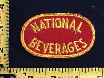 Vintage National Beverage Soda Cola Beer Uniform Patch