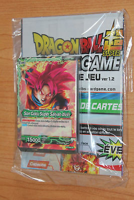 Cartes Dragon Ball Super Card Game / Carddass FR starter deck demo